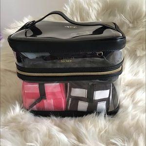 Victoria's Secret makeup organizer bag